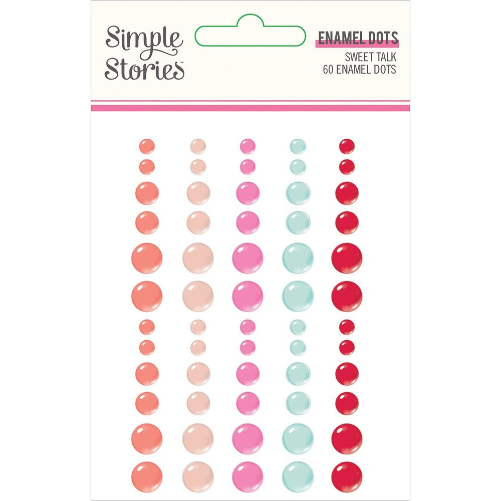 Simple Stories Sweet Talk - Enamel Dots