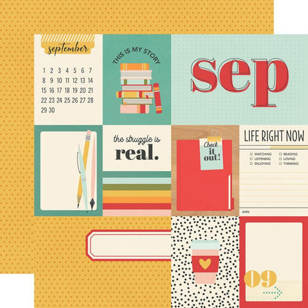Simple Stories Hello Today - September