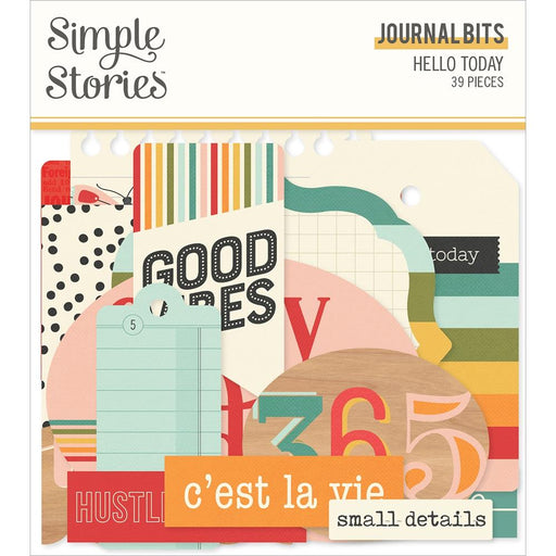 Simple Stories Hello Today - Journal Bits & Pieces