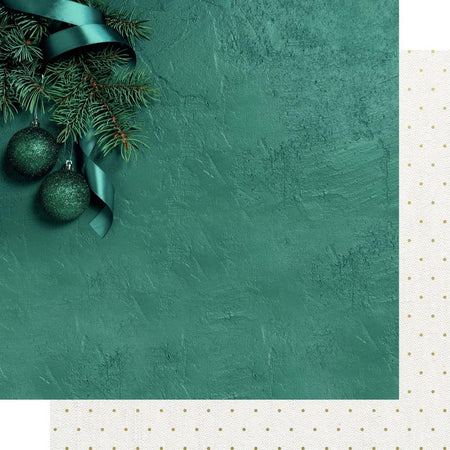 Kaisercraft Emerald Eve - Fir Tree (foiled)