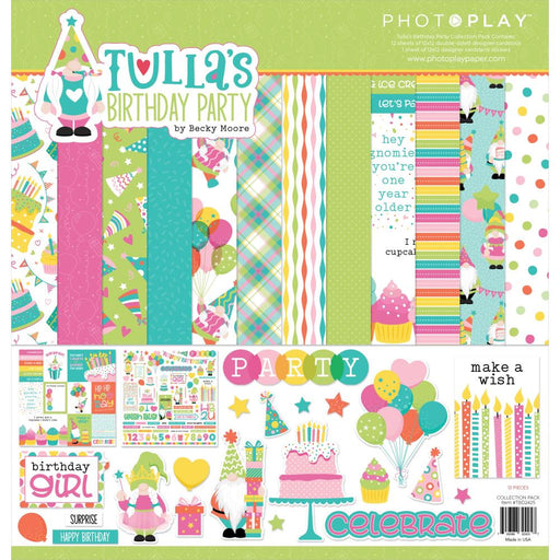 Photoplay Tulla's Birthday Party - Collection Pack