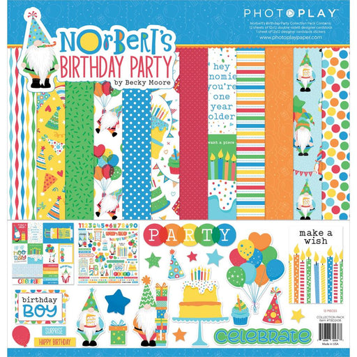 Photoplay Norbert's Birthday - Collection Pack