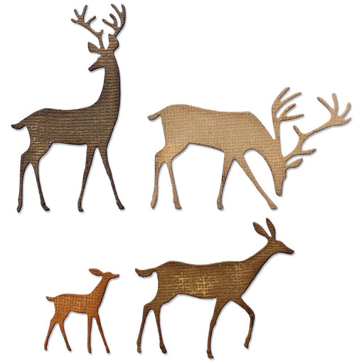 Sizzix Tim Holtz Alterations Thinlits Die - Darling Deer