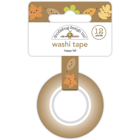 Doodlebug Design Pumpkin Spice - Happy Fall Washi Tape