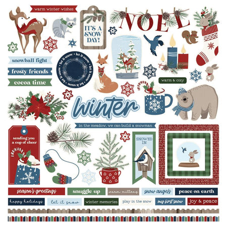Photoplay Winter Memories - Element Stickers