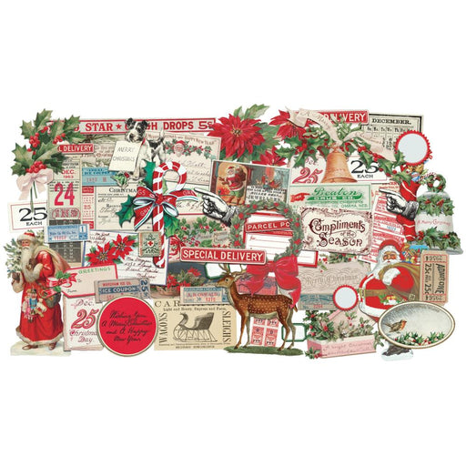 Tim Holtz Idea-ology - Ephemera Pack Christmas Snippets
