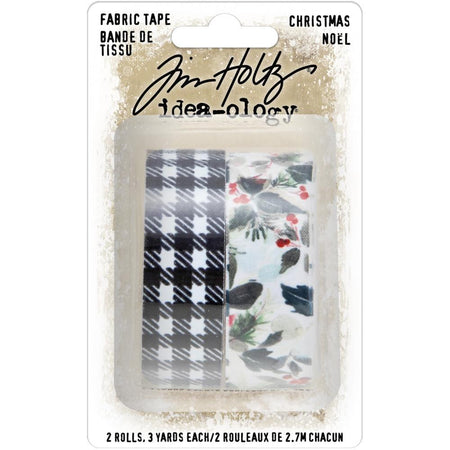 Tim Holtz Idea-ology - Fabric Tape Christmas