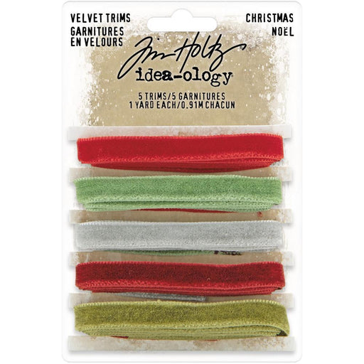 Tim Holtz Idea-ology - Velvet Trims Christmas