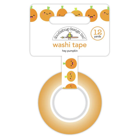 Doodlebug Design Ghost Town - Hey Pumpkin Washi Tape