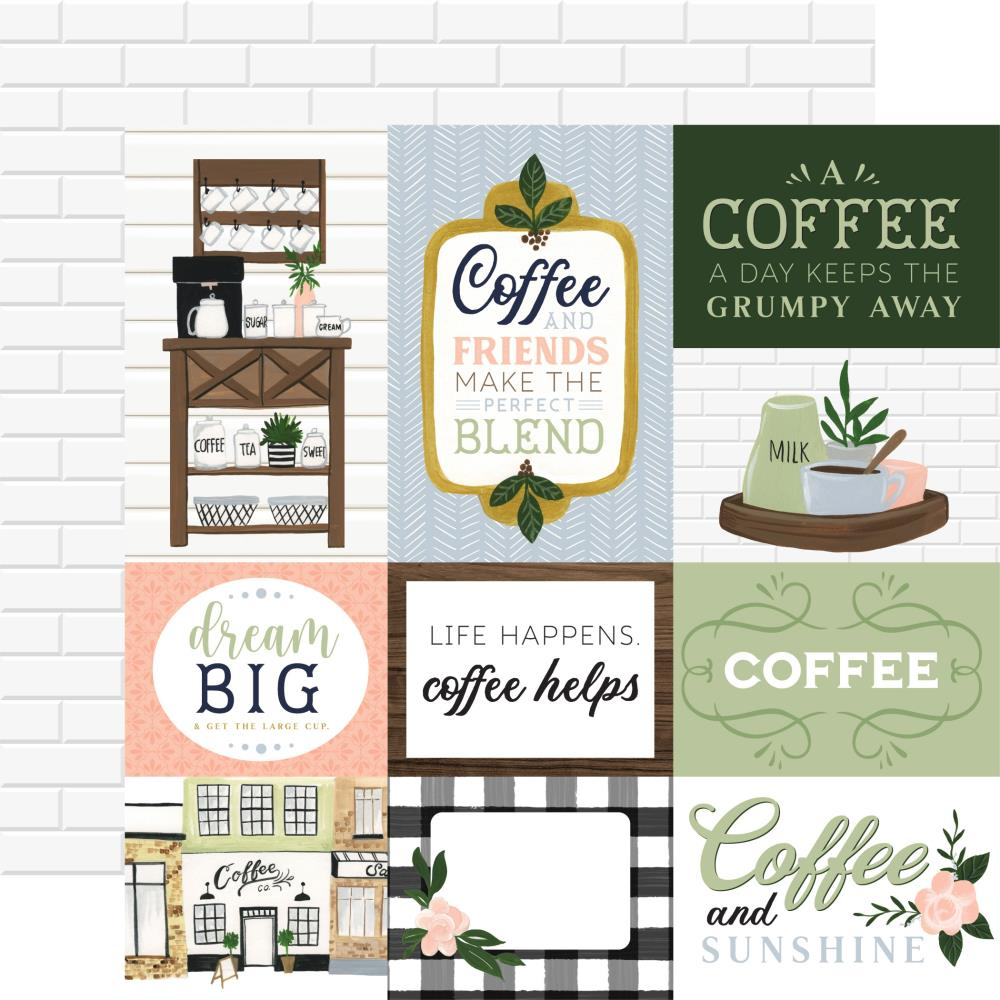 Echo Park Coffee & Friends - Journaling Cards