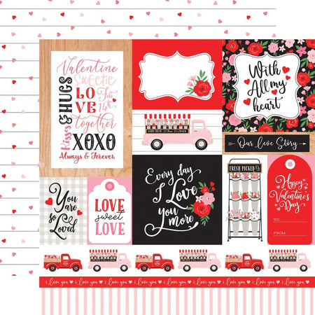 Echo Park Cupid & Co - Multi Journaling Cards
