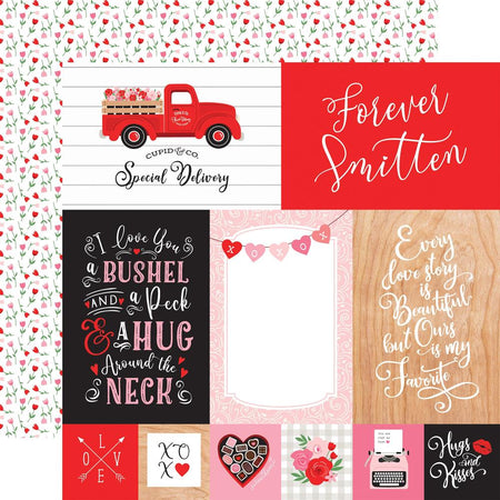 Echo Park Cupid & Co - 4x6 Journaling Cards