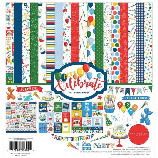 Carta Bella Let's Celebrate - Collection Kit