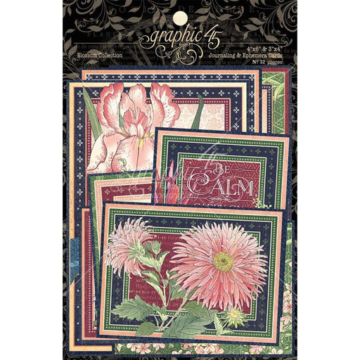 Graphic 45 Blossom - Journaling & Ephemera Cards