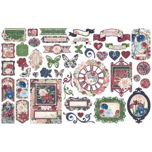 Graphic 45 Blossom - Die Cut Assortment