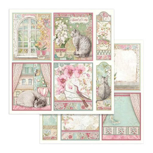 Stamperia Orchids & Cats - Orchid Cards