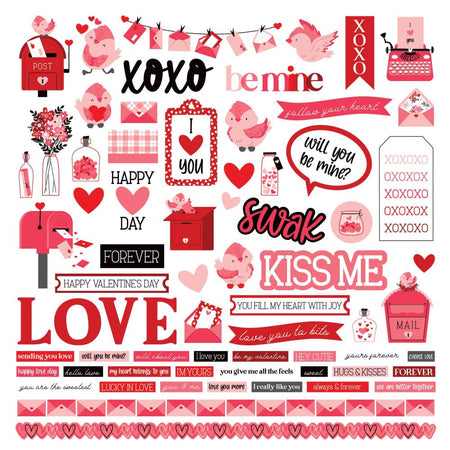 Photoplay Love Letters - Element Stickers