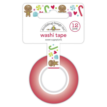 Doodlebug Design Night Before Christmas - Washi Tape Sweet Sugarplums
