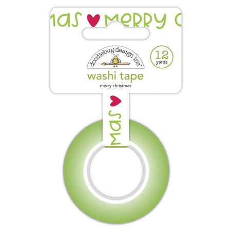 Doodlebug Design Night Before Christmas - Merry Christmas Washi Tape