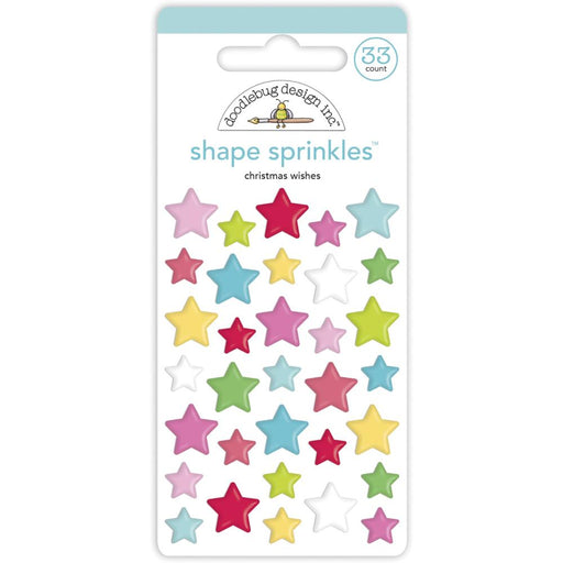 Doodlebug Design Night Before Christmas - Christmas Wishes Shape Sprinkles