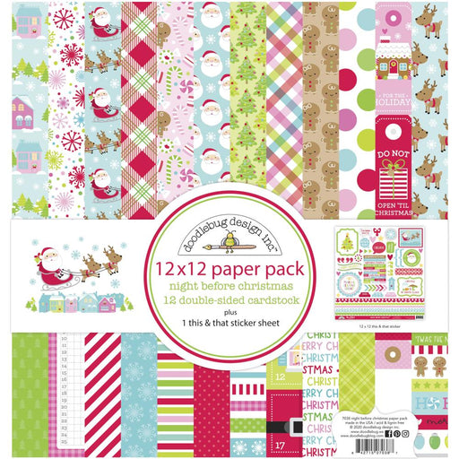 Doodlebug Design Night Before Christmas - Collection Kit