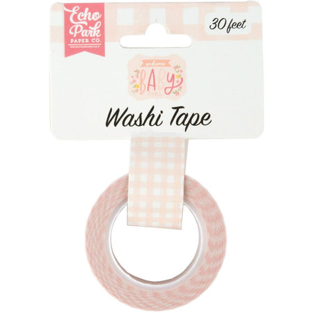 Echo Park Welcome Baby Girl - Dreamy Plaid Washi Tape