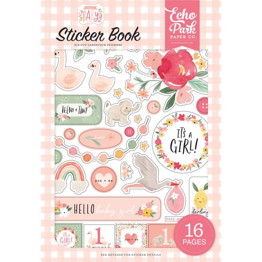 Echo Park Welcome Baby Girl - Sticker Book