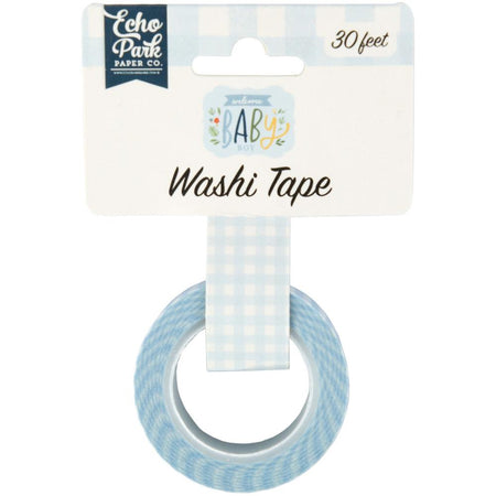 Echo Park Welcome Baby Boy - Perfect Plaid Washi Tape