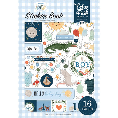 Echo Park Welcome Baby Boy - Sticker Book