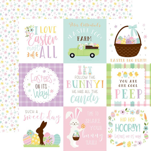 Echo Park Welcome Easter - 3x4 Journaling Cards