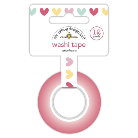 Doodlebug Design Made With Love - Candy Hearts Washi Tape