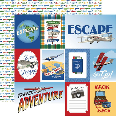 Carta Bella Our Travel Adventure - Multi Journaling Cards