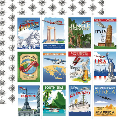 Carta Bella Our Travel Adventure - Travel Posters