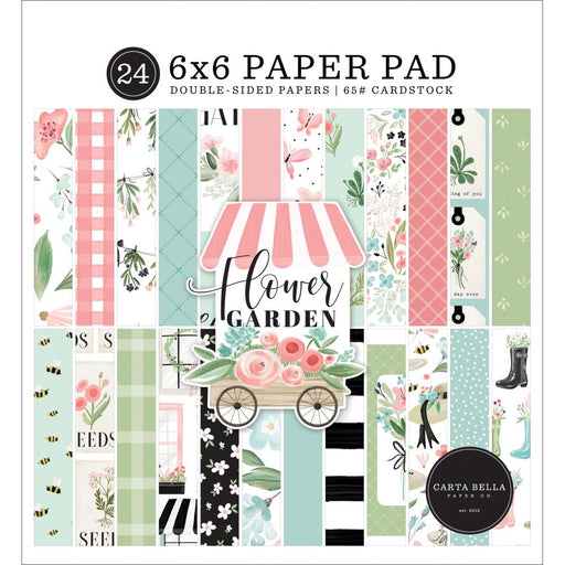 Carta Bella Flower Garden - 6x6 Pad