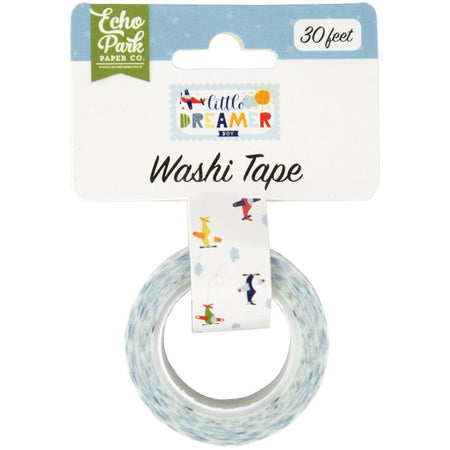 Echo Park Little Dreamer Boy - Airplanes Washi Tape