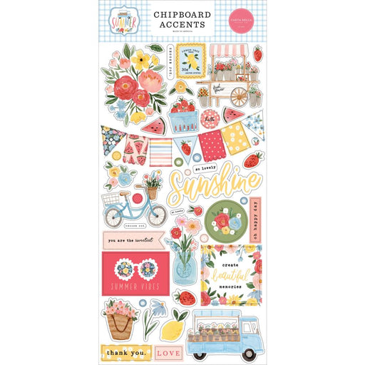 Carta Bella Summer - Chipboard Accents