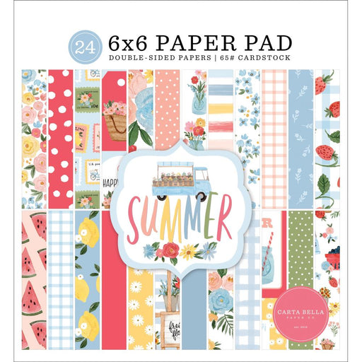 Carta Bella Summer - 6x6 Pad