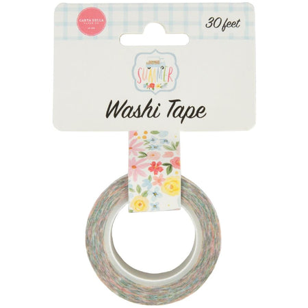 Carta Bella Summer - Sweetest Floral Washi Tape