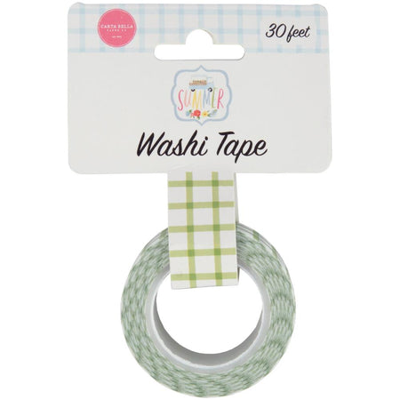 Carta Bella Summer - Sunshine Plaid Washi Tape