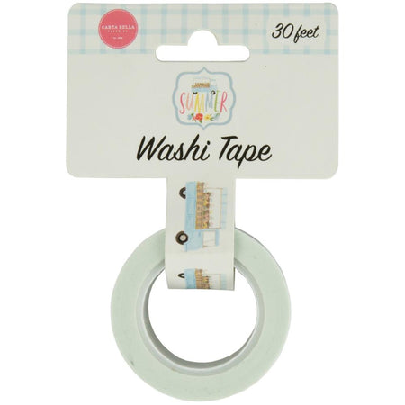 Carta Bella Summer - Flower Delivery Truck Washi Tape