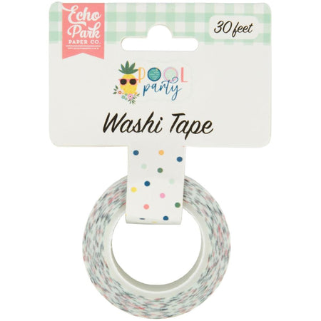 Echo Park Pool Party - Pool Dot Washi Tape