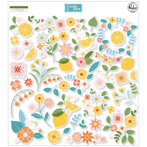 Pinkfresh Studio Some Days - Floral Cardstock Die Cuts