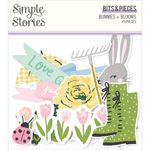 Simple Stories Bunnies & Blooms  - Bits and Pieces