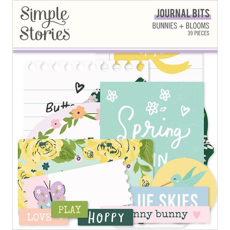 Simple Stories Bunnies & Blooms  - Journal Bits and Pieces