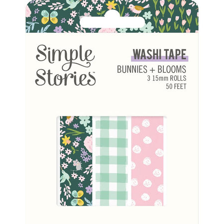 Simple Stories Bunnies & Blooms - Washi Tape