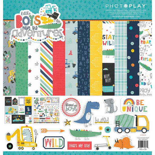 Photoplay Little Boys Have Big Adventures - Collection Pack