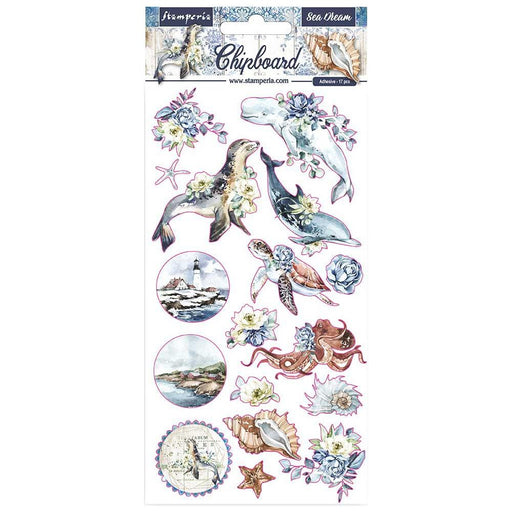 Stamperia Romantic Sea Dream - Chipboard