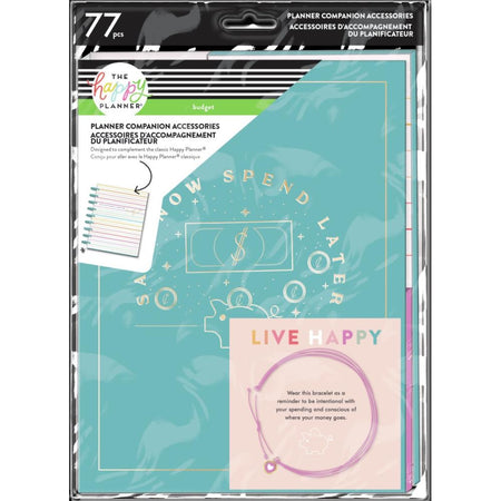 Me & My Big Ideas Happy Planner - Budget Line Art Classic Planner Companion Accessories