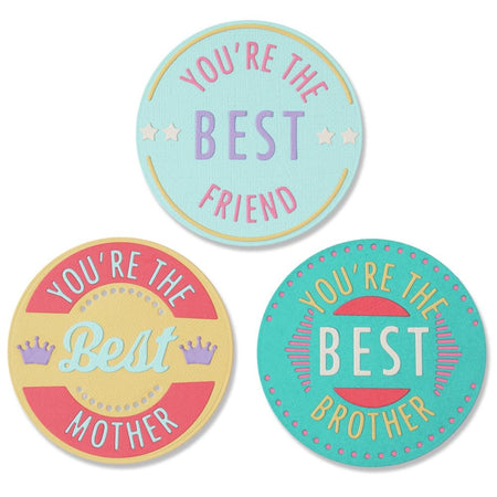 Sizzix Thinlits Die - You're The Best