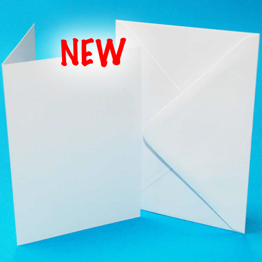 "Craft UK Card Blanks & Envelopes - 10""x7"""